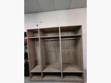 [95成新] 九成五新木心板開放式6尺半衣櫃衣櫃/衣櫥近乎全新