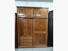 [9成新] 橡木實木6尺置物衣櫃衣櫃/衣櫥無破損有使用痕跡