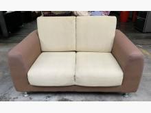 [8成新] 三合二手物流(雙人皮沙發)雙人沙發有輕微破損