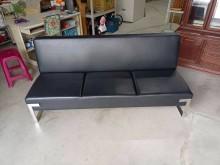 [95成新] 黑色皮製3人坐沙發H03889雙人沙發近乎全新