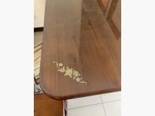 [7成新及以下] 梨花木餐桌椅餐桌椅組有明顯破損