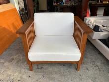 [95成新] 詩肯柚木 一人座沙發木製沙發近乎全新