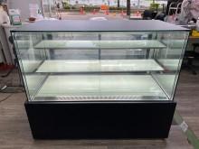 [9成新] 吉田二手傢俱❤5尺直角臥式蛋糕櫃冰箱無破損有使用痕跡