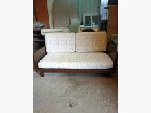 [9成新] 木框兩人座布沙發(布套可拆洗)雙人沙發無破損有使用痕跡