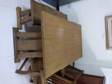 [9成新] 原木餐桌餐桌無破損有使用痕跡