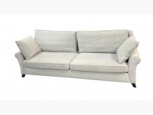 [8成新] A82336*灰色4人布沙發*雙人沙發有輕微破損