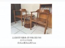 [7成新及以下] 其它桌椅有明顯破損