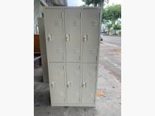 [9成新] 大慶二手家具 六格員工置物櫃辦公櫥櫃無破損有使用痕跡