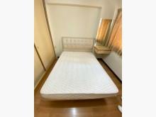 [9成新] 💡雙人床墊+可掀床架+床頭板雙人床墊無破損有使用痕跡