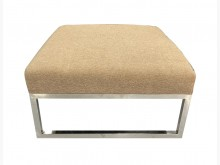 [8成新] A82417*布面沙發腳椅*沙發矮凳有輕微破損