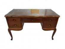 [9成新] *RW70433*紅木主管桌書桌/椅無破損有使用痕跡