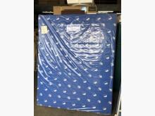 [全新] 毅昌二手家具~全新藍色印花5尺床雙人床墊全新
