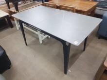 [全新] 毅昌二手家具~全新耐磨岩板伸縮桌餐桌全新