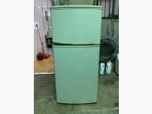 [7成新及以下] [中古] 東元137L小雙門冰箱冰箱有明顯破損