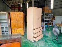 合運二手傢俱~木紋三抽單人衣櫃衣櫃/衣櫥有輕微破損