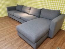 [9成新] 九成新IKEA四人座沙發L型沙發無破損有使用痕跡