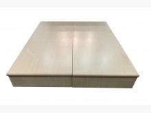 [9成新] B81022*白像色雙人床箱雙人床架無破損有使用痕跡