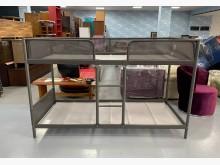 [9成新] B81402*IKEA鐵製上下床單人床架無破損有使用痕跡