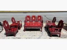 [9成新] 三合二手物流(紅木八件組)椅子無破損有使用痕跡
