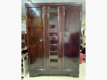 [8成新] 三合二手物流(全檜木五呎衣櫃)櫥/櫃有輕微破損