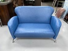 [全新] EA814BF*新藍色雙人座沙發雙人沙發全新