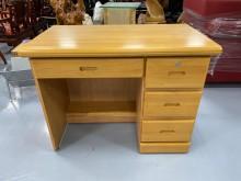 [9成新] E81403*半實木書桌書桌/椅無破損有使用痕跡