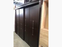 [8成新] 毅昌二手家具~胡桃7.7尺衣櫃衣櫃/衣櫥有輕微破損