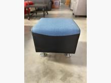 [全新] 新品蒼青藍半貓抓皮小腳椅單人沙發全新
