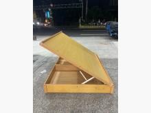[9成新] B82222*木紋色5尺掀床雙人床架無破損有使用痕跡