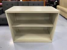 [9成新] C83013*3尺無門鐵櫃辦公櫥櫃無破損有使用痕跡