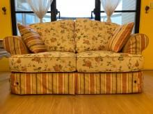 [9成新] 溫馨鄉村風求售雙人沙發無破損有使用痕跡