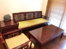 [8成新] 二手太師桌子椅子一整組桌子有輕微破損
