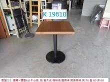 [8成新] K19810餐桌 咖啡桌 簡餐桌餐桌有輕微破損