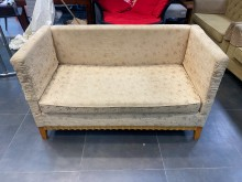 [9成新] A90614*金布雙人沙發雙人沙發無破損有使用痕跡