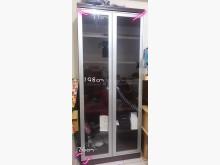 [8成新] 198cm超高厚木玻璃展示櫃收納櫃有輕微破損