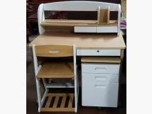 [8成新] 二手.100 公分書桌+椅+櫃書桌/椅有輕微破損