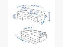 [9成新] ikea 沙發 FRIHETEN沙發床無破損有使用痕跡