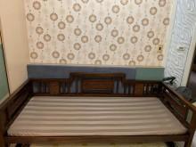 [9成新] 忍痛售出~古典羅漢床床無破損有使用痕跡