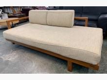 [9成新] 保存佳Daybed詩肯柚木沙發床沙發床無破損有使用痕跡