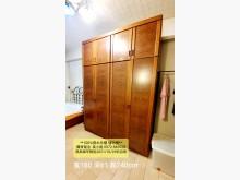[7成新及以下] 實木木頭雙層衣櫃三門附鏡子衣櫃/衣櫥有明顯破損