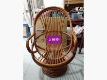 [9成新] 大藤椅:$399,小藤椅$149書桌/椅無破損有使用痕跡