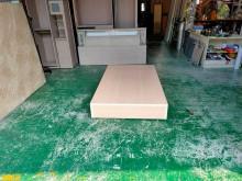合運二手傢俱~木紋單人床箱單人床架無破損有使用痕跡
