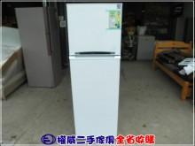 [95成新] 權威二手傢俱/台灣三洋 雙門冰箱冰箱近乎全新