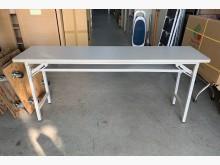 6*1.5折桌/會議桌/活動桌會議桌無破損有使用痕跡