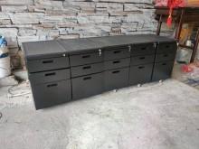 [9成新] 超值辦公三層活動櫃 (附鑰匙)辦公櫥櫃無破損有使用痕跡