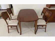[95成新] 三合二手物流(實木餐桌椅組)餐桌椅組近乎全新