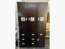 [9成新] 三合二手物流(實木4尺衣櫃)衣櫃/衣櫥無破損有使用痕跡
