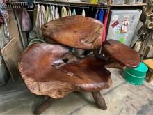 [95成新] 原木椅110寬60背高78公分其它沙發近乎全新