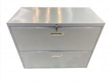 [9成新] C10109*二層理想櫃辦公櫥櫃無破損有使用痕跡