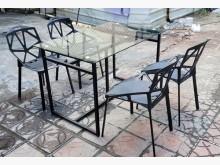 [95成新] 三合二手物流(工業風餐桌椅組)餐桌椅組近乎全新